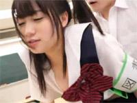 黒髪マジメ女子校生 種付けプレスで妊娠確定!! 大島美緒